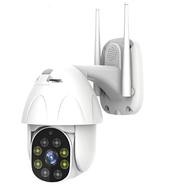 Беспроводная поворотная уличная Wi-Fi IP видеокамера 2МП, фото 2