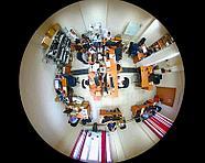 Панорамная Wi-Fi IP камера 360° (рыбий глаз), 6 mpx, H.264/H.265, фото 3