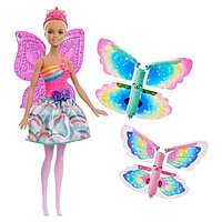 Barbie Кукла Фея со сменными крыльями