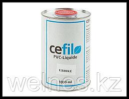 Жидкий ПВХ герметик - уплотнитель швов алькорплана Cefil Urdike (синий)