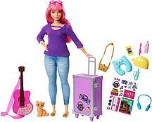 Barbie Кукла Дейзи с котенком в пути