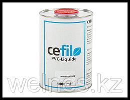 Жидкий ПВХ герметик - уплотнитель швов алькорплана Cefil Transparent (прозрачный)
