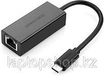 Сетевой адаптер  UGREEN US236 USB Type-C to 10/100/1000Mbps Ethernet