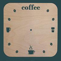 """Основа для часов """"Coffee"""""""