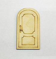 Накладка №2: Двери прямоугольные для чайного домика (маленькие)
