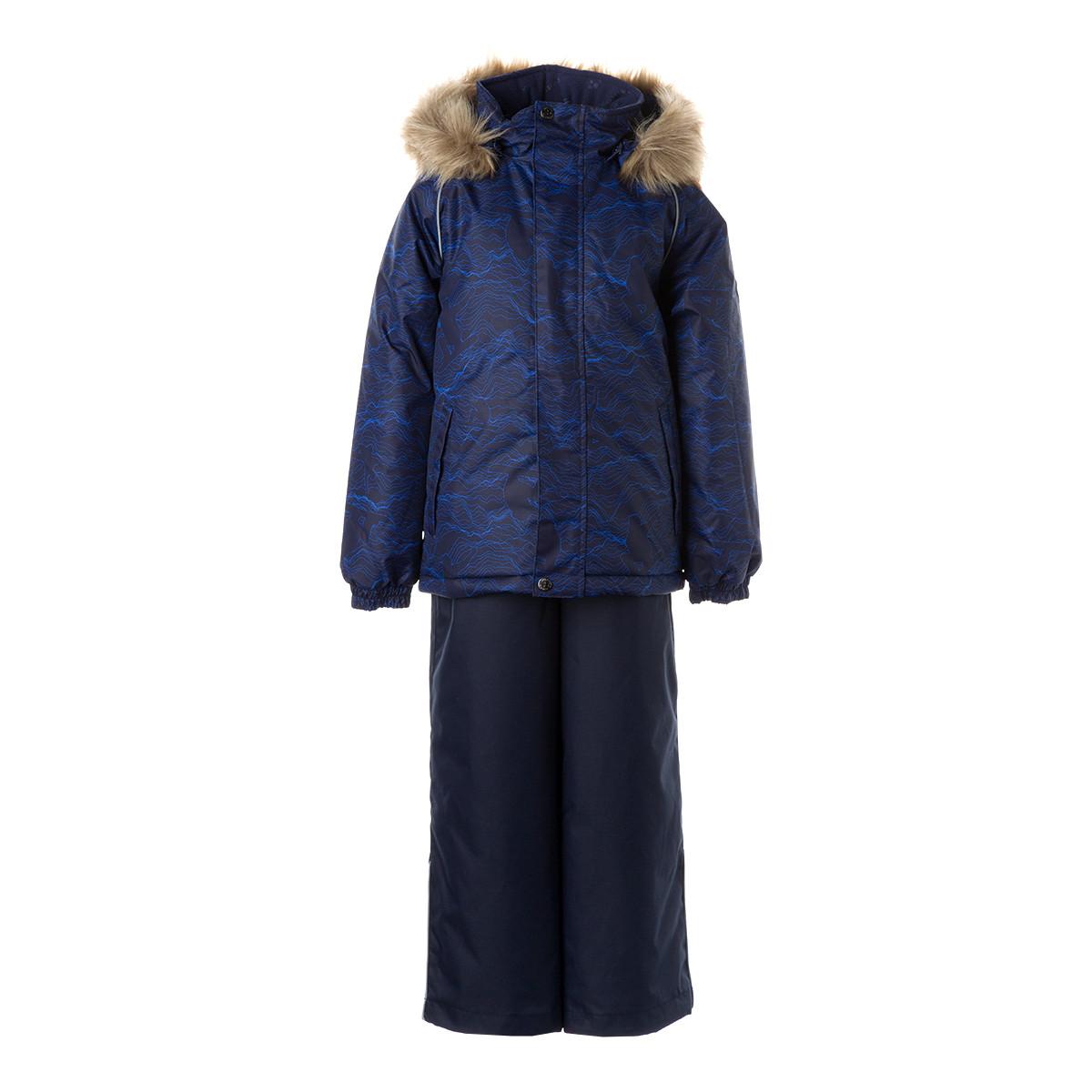 Детский комплект Huppa WINTER, темно-синий