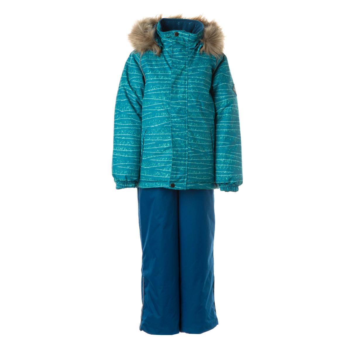 Детский комплект Huppa WINTER,  голубой с принтом