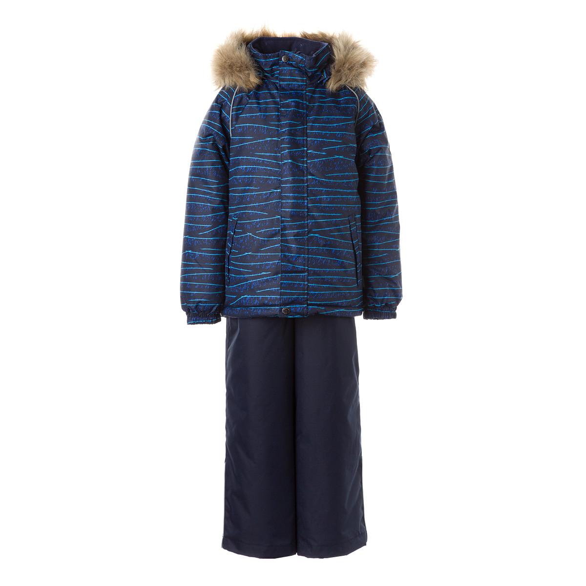 Детский комплект Huppa WINTER, темно-синий с принтом