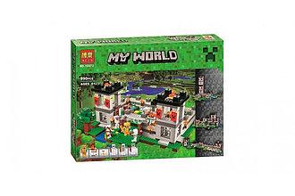 Bela My World 10472 Конструктор Пещера Майнкрафт 990 деталей (Аналог LEGO)