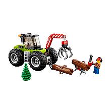 Bela Cities 10870 Конструктор Лесной трактор (Аналог LEGO 60181)