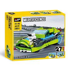 Decool 31011 Конструктор Рокетный Ралли автомобиль, 241 дет. (Аналог LEGO)