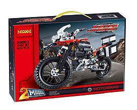 Decool 3369 Конструктор Мотоцикл BMW R1 200 GS, Adventure Motorrad (Аналог Лего)