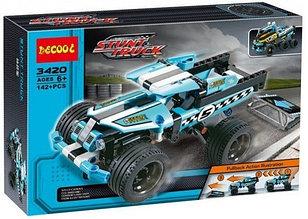 Decool 3420 Конструктор Трюковой грузовик Каскадер, 142  дет. (Аналог LEGO)