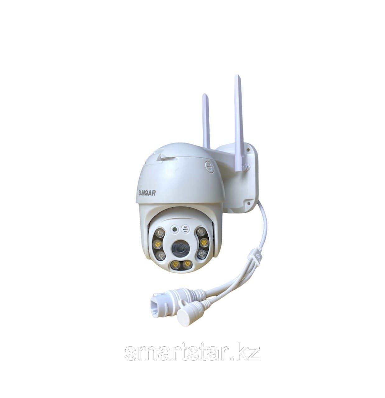 Поворотная уличная WiFi камера видеонаблюдения SUNQAR PTZ SU-335