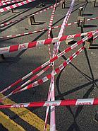 Оградительная лента Проход запрещен 100 мм × 100 м, фото 3