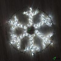 """Новогодняя светодиодная фигура """"Снежинка"""" 60х60 см (НФ-93)"""
