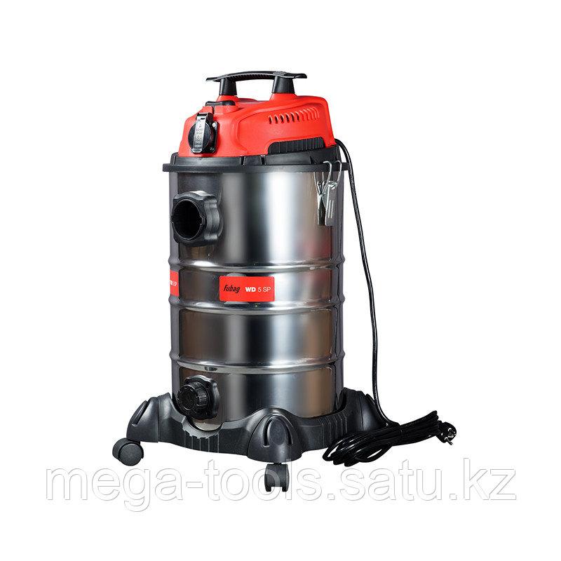 Строительный пылесос FUBAG, Объём бака 30 литр, WD 5SP