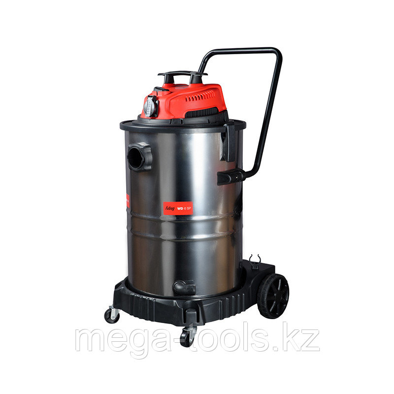 Строительный пылесос FUBAG, Объём бака 60 литров, WD 6SP