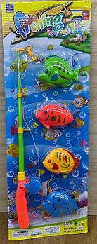 SFY-06 Fishing Play set  рыбалка на картоне удочка+4 рыба 57*19см
