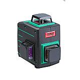 Профессиональный лазерный 3D уровень с зеленым лучом FUBAG Pyramid 30G V2х360H360, фото 5
