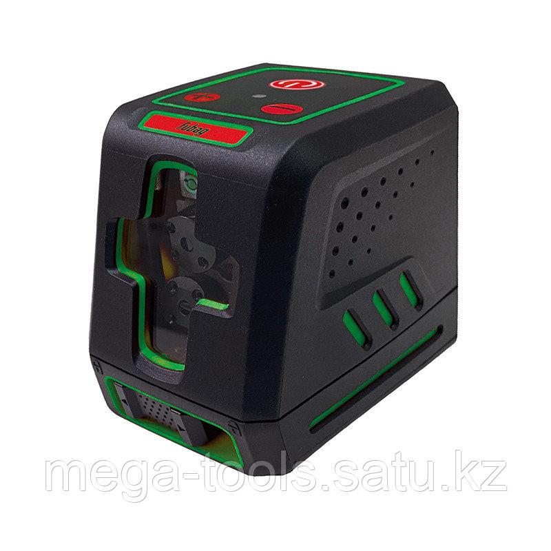 Компактный лазерный нивелир FUBAG с зеленым лучом. CRYSTAL 15G VH