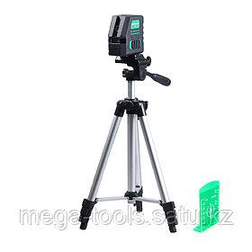 Профессиональный лазерный уровень FUBAG Crystal 20G VH Set c зеленым лучом