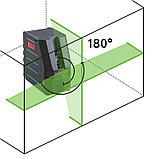 Профессиональный лазерный уровень FUBAG Crystal 20G VH Set c зеленым лучом, фото 2