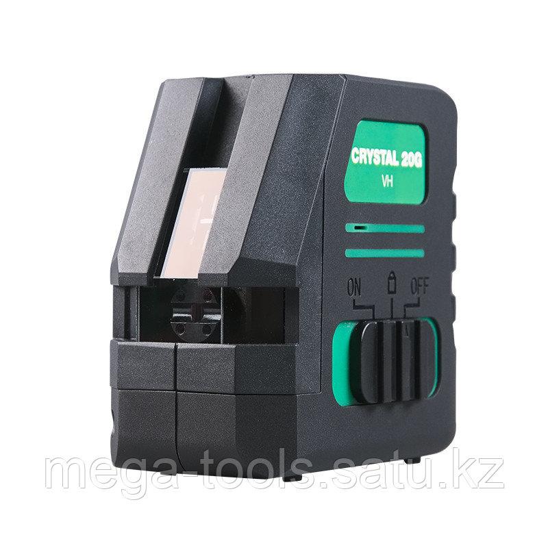 Профессиональный лазерный уровень FUBAG Crystal 20G VH c зеленым лучом