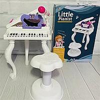 Детский синтезатор со стульчиком J93-01