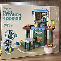 Игровая кухня Kitchen Cooking 678-1А (свет, звук, вода, кипение)