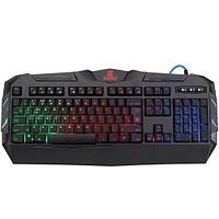 Клавиатура игровая Defender Werewolf GK-120DL RU, черный