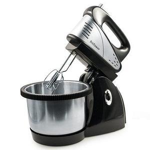 Миксер с вращающейся чашей на подставке TriTower {1000W, 3.5л, 2 пары насадок, 5 скоростей}