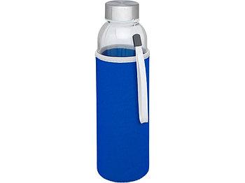 Спортивная бутылка Bodhi из стекла объемом 500 мл, cиний