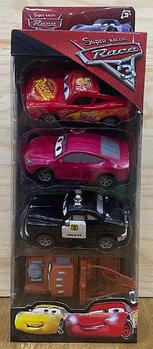 668-3 Super racing race 3 маквин и друзья 4в1 34*12см