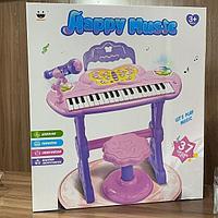 Пианино со стульчиком, 37 клавиш.