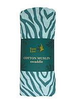 Муслиновая пеленка BLUE TIGER 120*120 см Tommy Lise