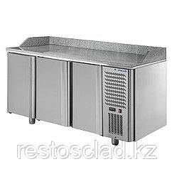 Стол охлаждаемый для пиццы POLAIR TM3pizza-G с гранитной столешницей