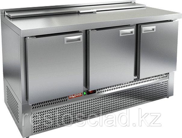 Стол охлаждаемый для салатов SLE2-111GN с крышкой
