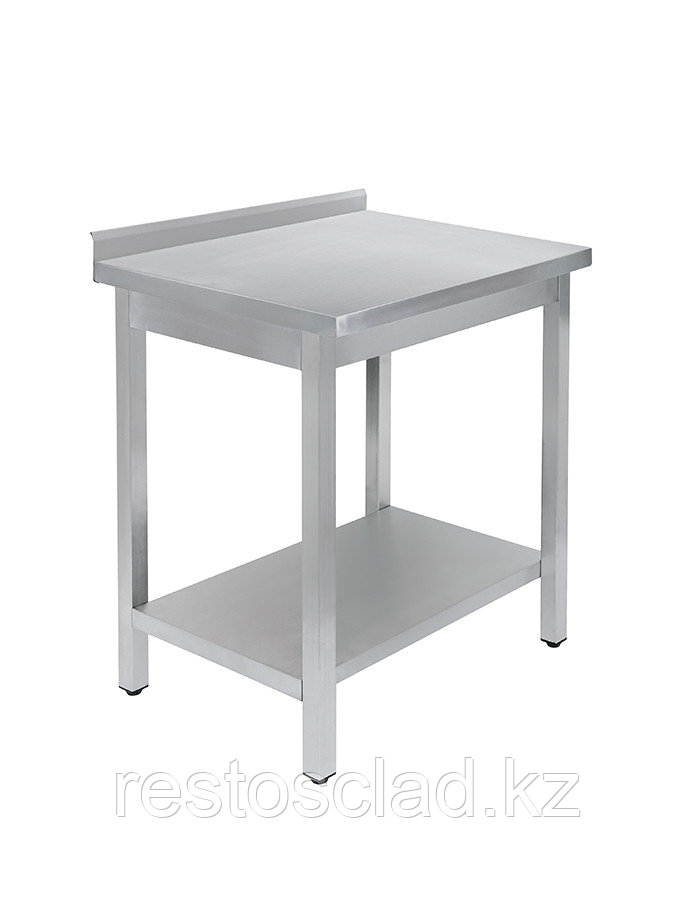 Стол универсальный Luxstahl СПУ-6/7 со сплошной полкой нерж