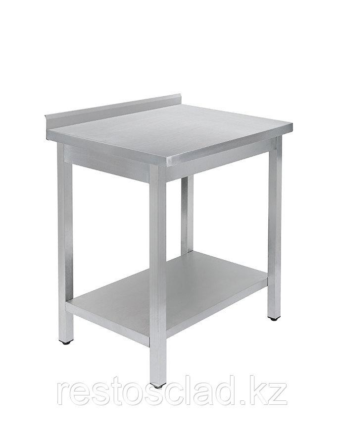 Стол универсальный Luxstahl СПУ-7/6 со сплошной полкой нерж