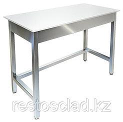 Стол рабочий островной ТЕХНО-ТТ СП-422/1500 со столешницей из полипропилена
