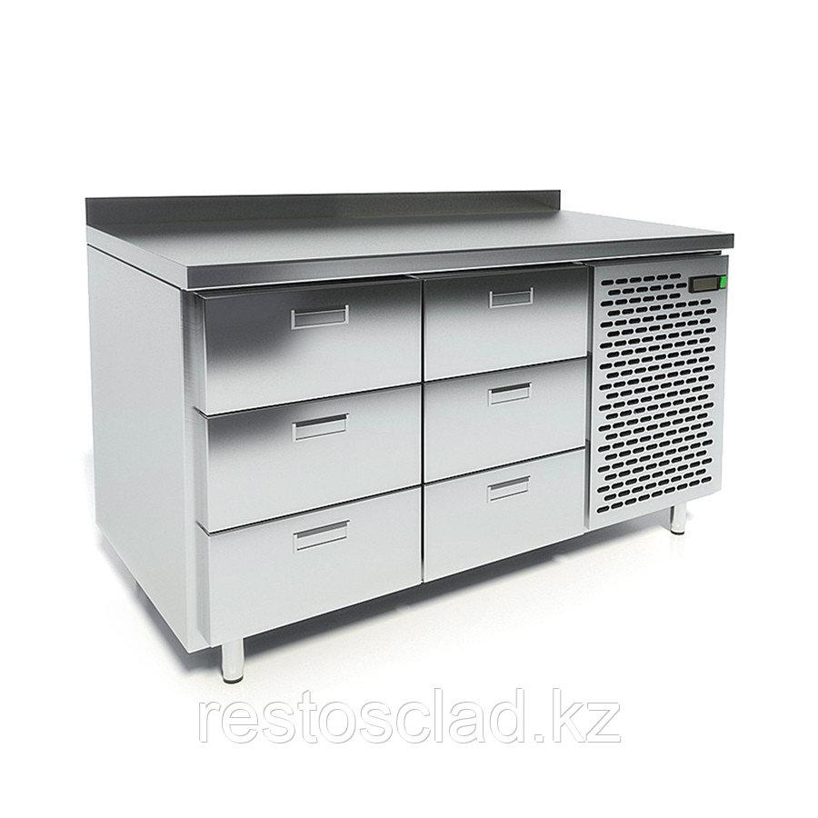 Стол морозильный CRYSPI СШН-6,0-1400