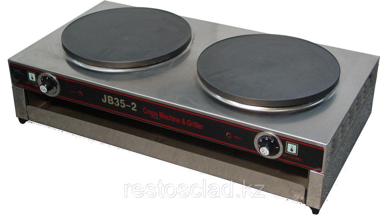 Блинница ERGO JB35-2 двухконфорочная