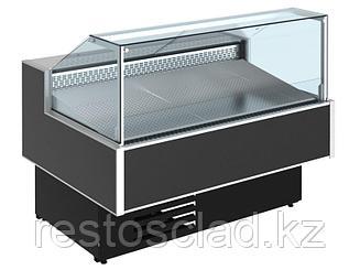 Витрина холодильная «рыба на льду» CRYSPI Gamma Quadro Fish SN 1200 (RAL 7016)
