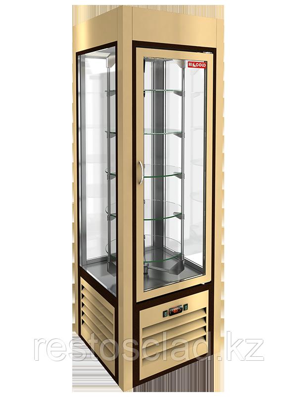 Витрина кондитерская вертикальная HICOLD VRC 350 R Sh Beige 294032