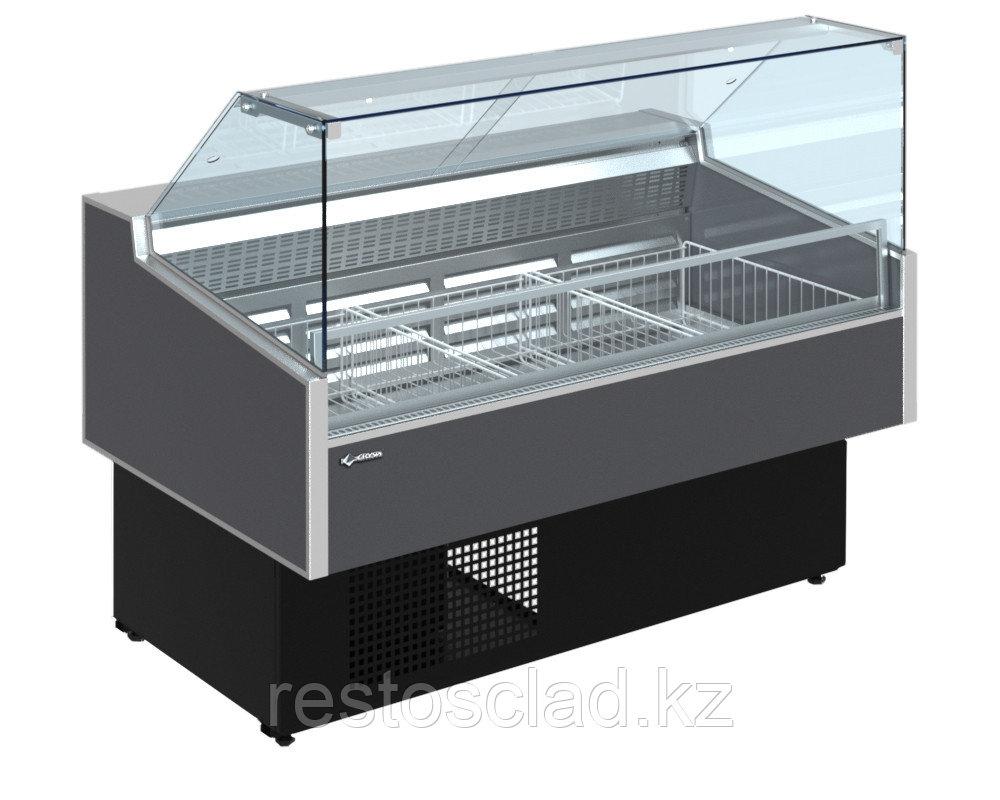 Витрина морозильная CRYSPI ВПН Octava Q М 1800 (RAL 7016)