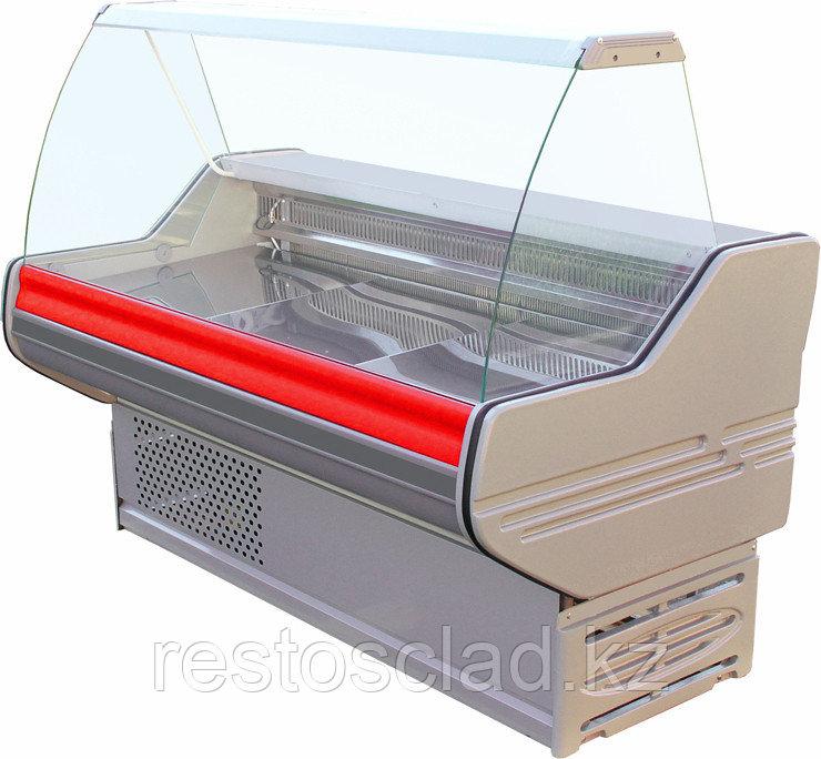 Витрина холодильная BELINDA BC 2-150 с полкой RAL3001
