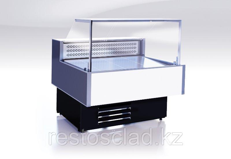 Витрина холодильная Gamma Quadro 1500 LED (RAL9016/7016)