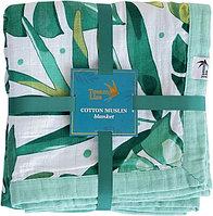 Муслиновое одеяло ROAMING MANGROVE 106*106см Tommy Lise