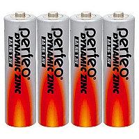 Батарейка солевая Perfeo Dynamic Zinc, AA, R6-SR4, 1.5В, плёнка, цена за 1 шт.